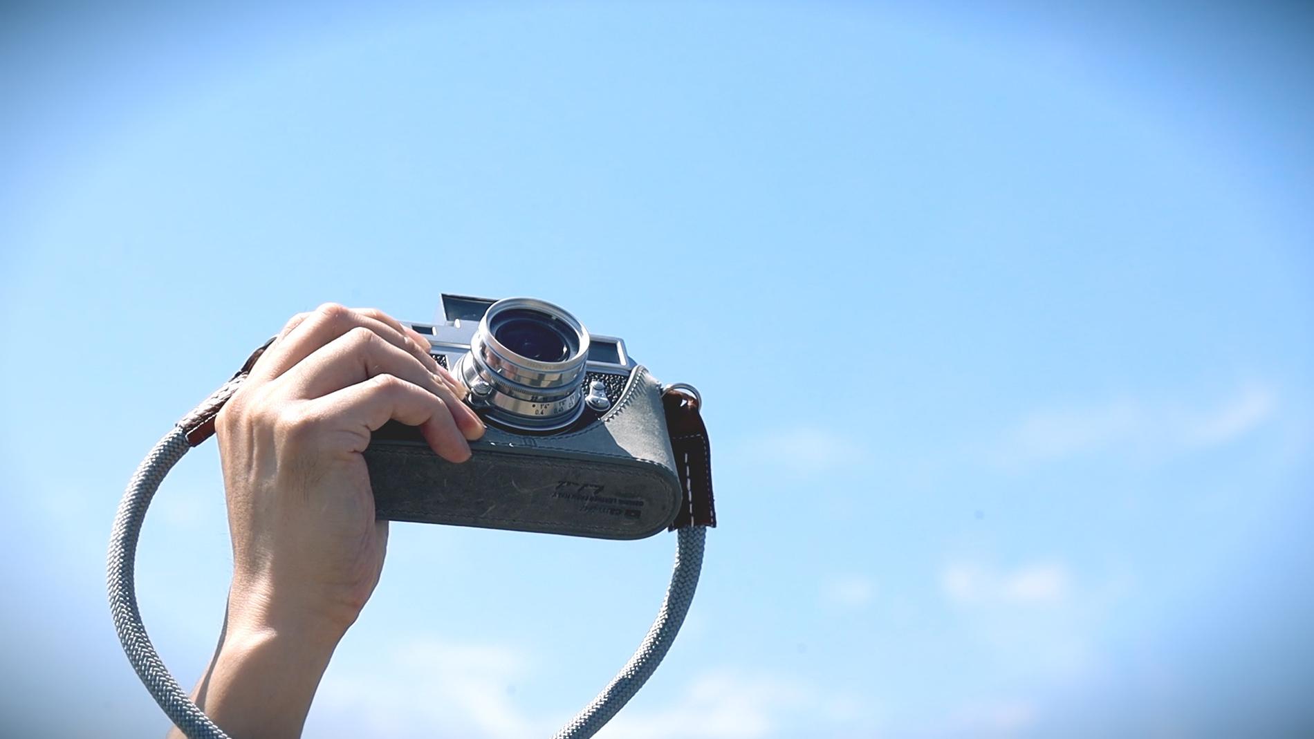 青空とカメラ