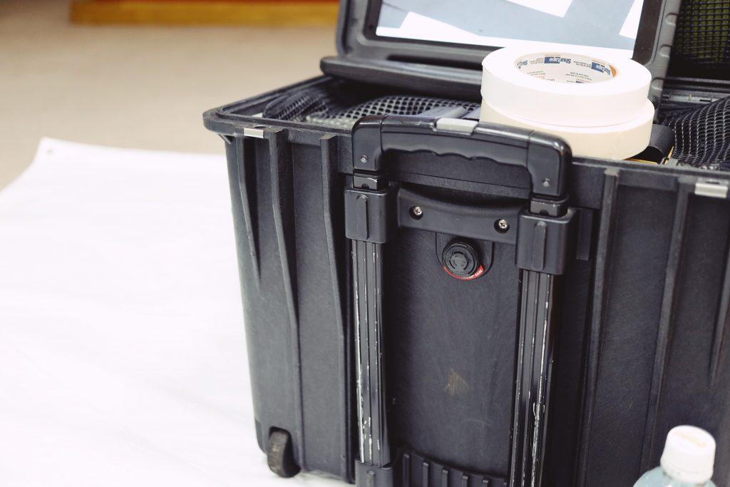 ペリカンのハードケースカメラバック
